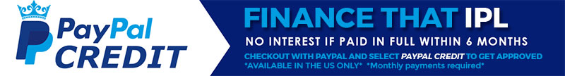 Paypal Credit option   6 months no interest   US only