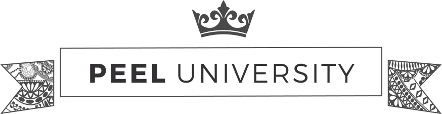 Learn everything chemical peel at Peel University by Platinum skin Care