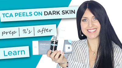 TCA Peels on Dark Skin | Preparation | Percentage Choice | After Care | Body