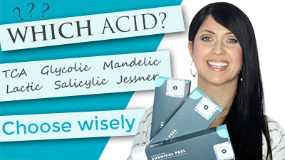 Which Acid Should I Choose? TCA | Jessners | Salicylic | Glycolic | Mandelic | Lactic