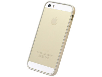 Flat Bumper Gold for iPhone SE 5s/5
