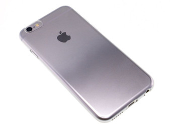 Jacket Set for iPhone 6s Plus/6 Plus Gradation Silver Back