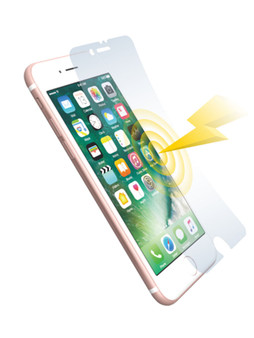 Shock-absorbing AFP Crystal Film Set for iPhone SE (2nd Gen) iPhone 8/iPhone 7