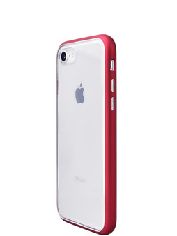 Shock Proof Air jacket for iPhone SE (2nd Gen)/iPhone 8/iPhone 7 Side Rubber Red
