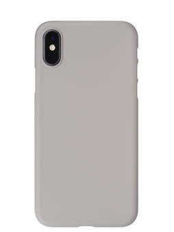 Air Jacket for iPhone XS Rubber Gray
