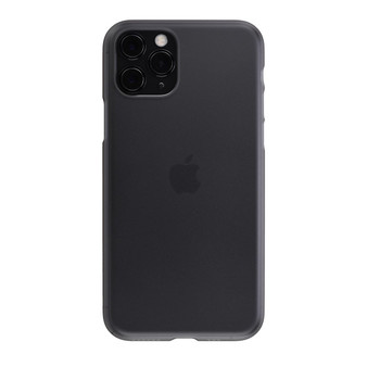 Air Jacket for iPhone 11 Pro Smoke Matte on an iPhone 11