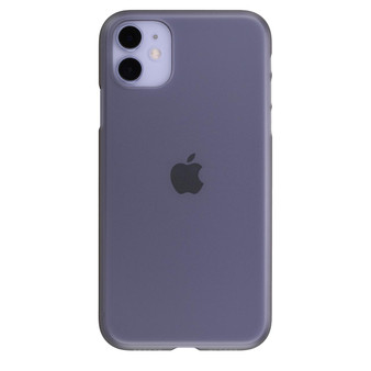 Air Jacket for iPhone 11 Smoke Matte on an iPhone 11