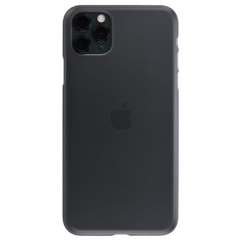 Air Jacket for iPhone 11 Pro Max Smoke Matte on iPhone 11 Pro Max