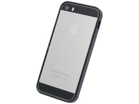 big sale 1f4dc 332d6 Flat Bumper Black for iPhone SE 5s/5
