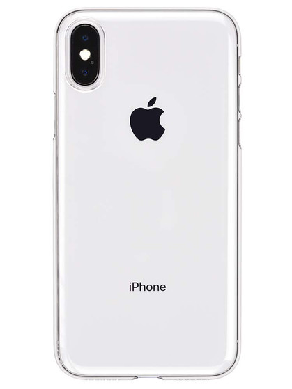online store cd5bf 77371 Air Jacket for iPhone X Clear