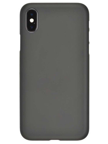 promo code 5ea69 cdb1d Air Jacket for iPhone X Rubber Black