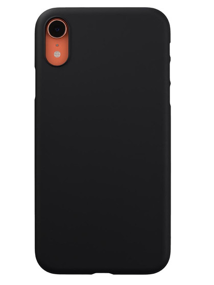 competitive price e8152 8b149 Air Jacket for iPhone XR Rubber Black