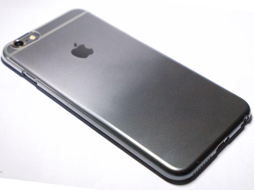official photos 0ed45 7609c Air Jacket Set for iPhone 6s Plus/6 Plus Gradation Dark Gray