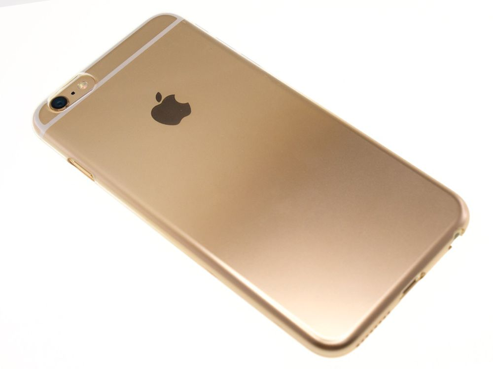 new product 4a9f4 e308e Air Jacket Set for iPhone 6s Plus/6 Plus Gradation Gold
