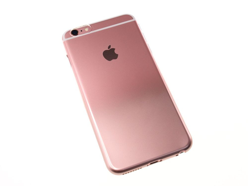 sports shoes 84314 dd87b Air Jacket Set for iPhone 6s/6 Gradation Rose Gold