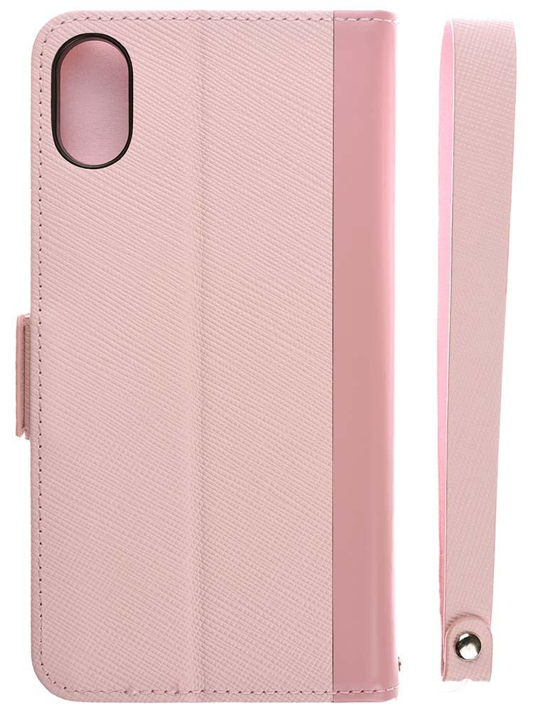 iphone xs flip case pink