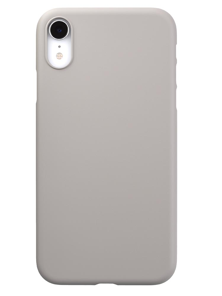 new concept 70a24 8e932 Air Jacket for iPhone XR Rubber Gray