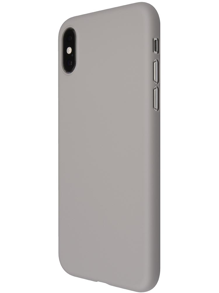 lowest price 99f9a c23ff Air Jacket for iPhone XS Rubber Gray
