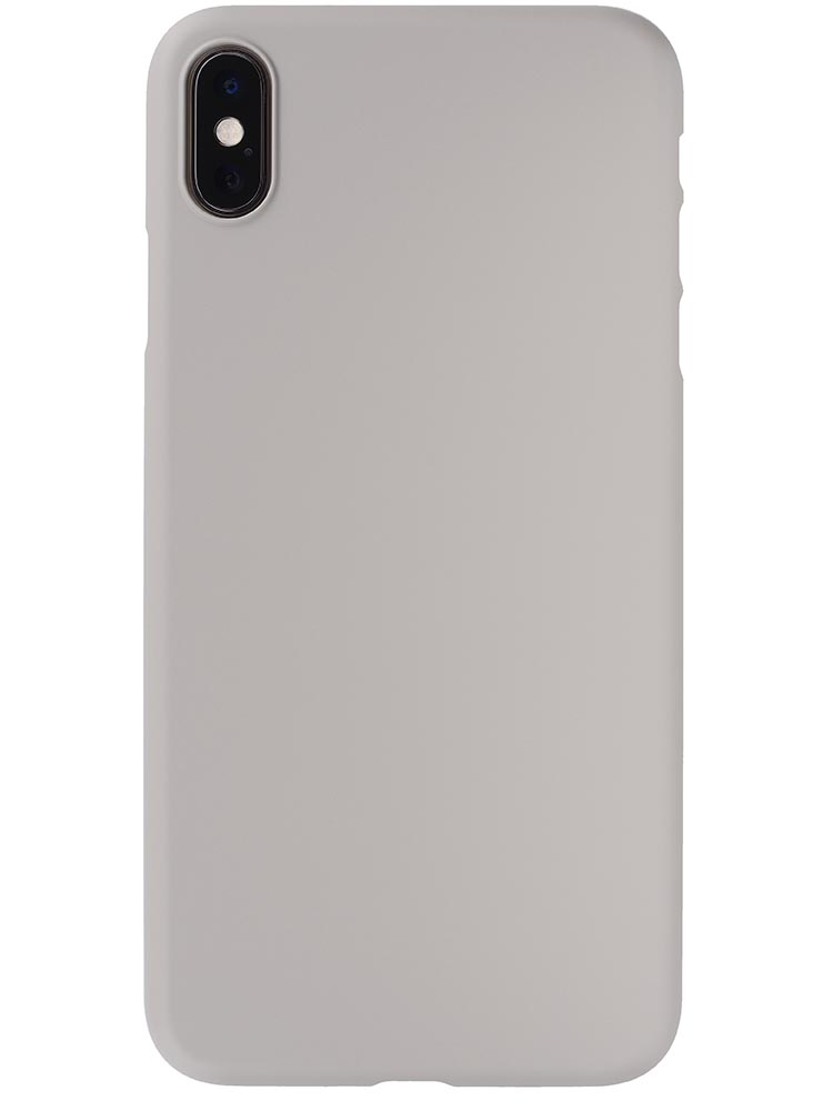 low priced d1bbc 5acc2 Air Jacket for iPhone XS Max Rubber Gray