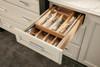 Wood Tiered Drawer Storage