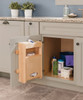 Sink Base Plastic Bag Door Storage Unit