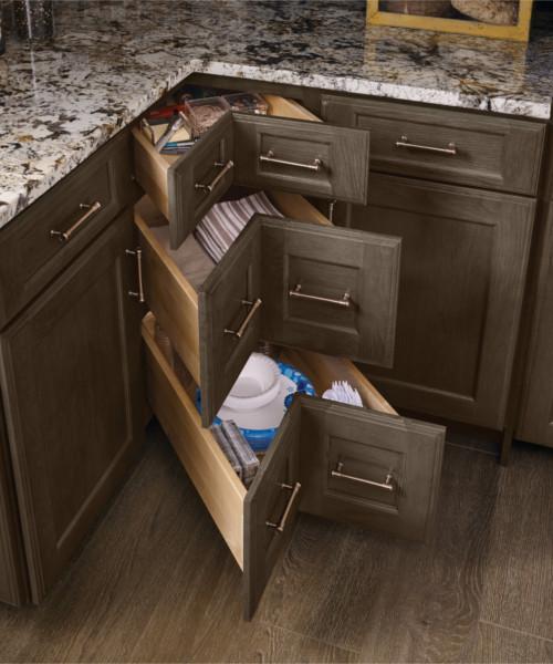 Base Corner Drawer Cabinet