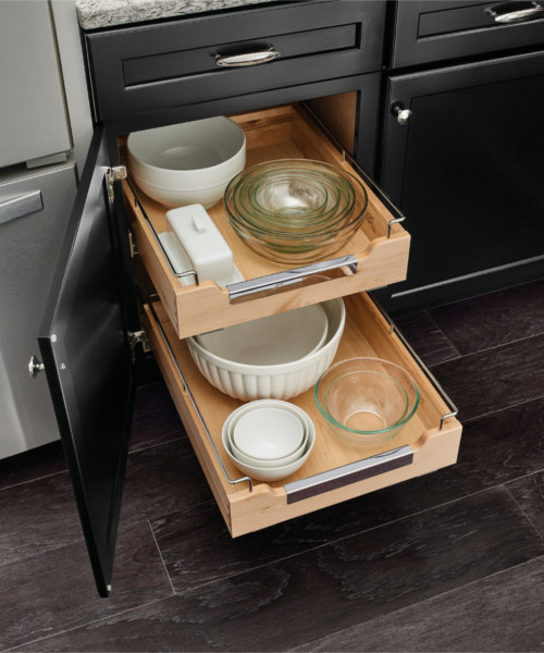 Chrome Deluxe Roll-out Tray