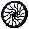 21 inch Black Street Glide Wheels