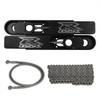 GSXR 600 - 750 Swingarm Extension Kit 12 inch