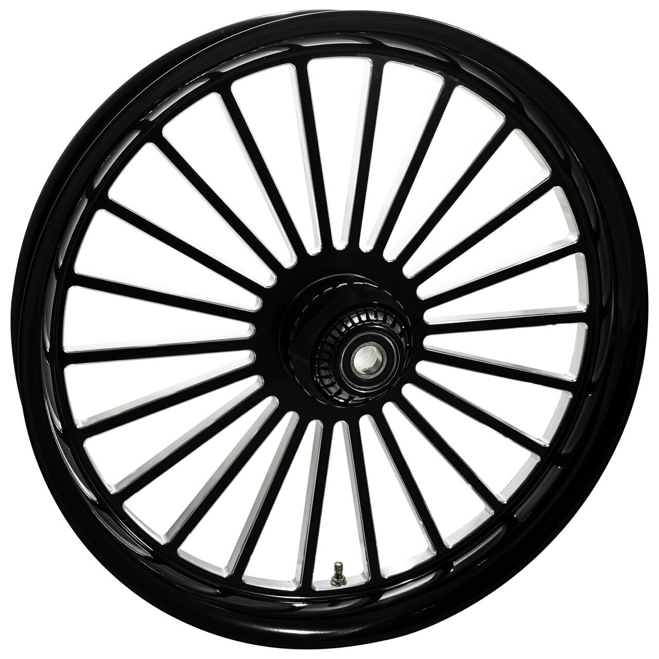 21 inch Black Street Glide Wheels