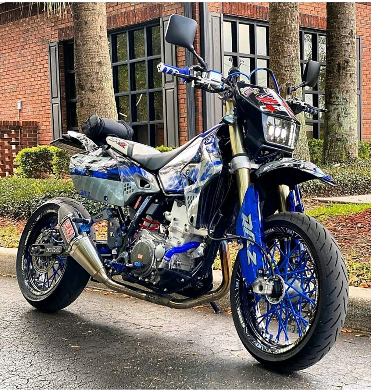 DR-Z400SM Super Moto Swingarm Extensions