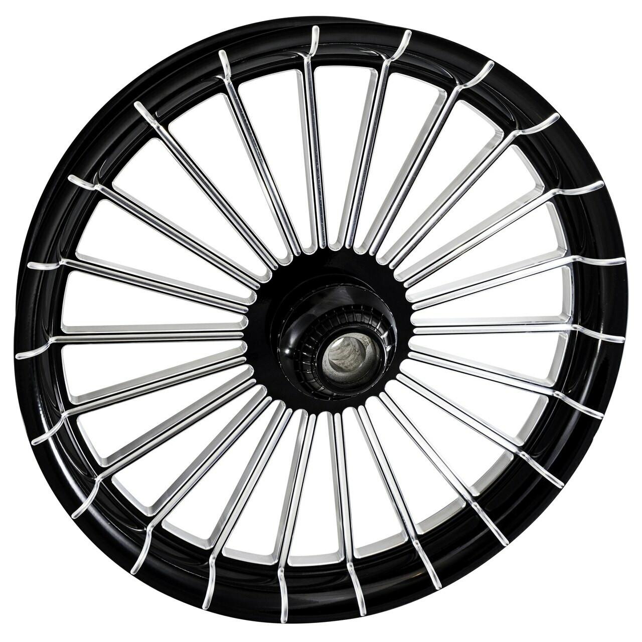 Black Contrast Street Glide Wheels