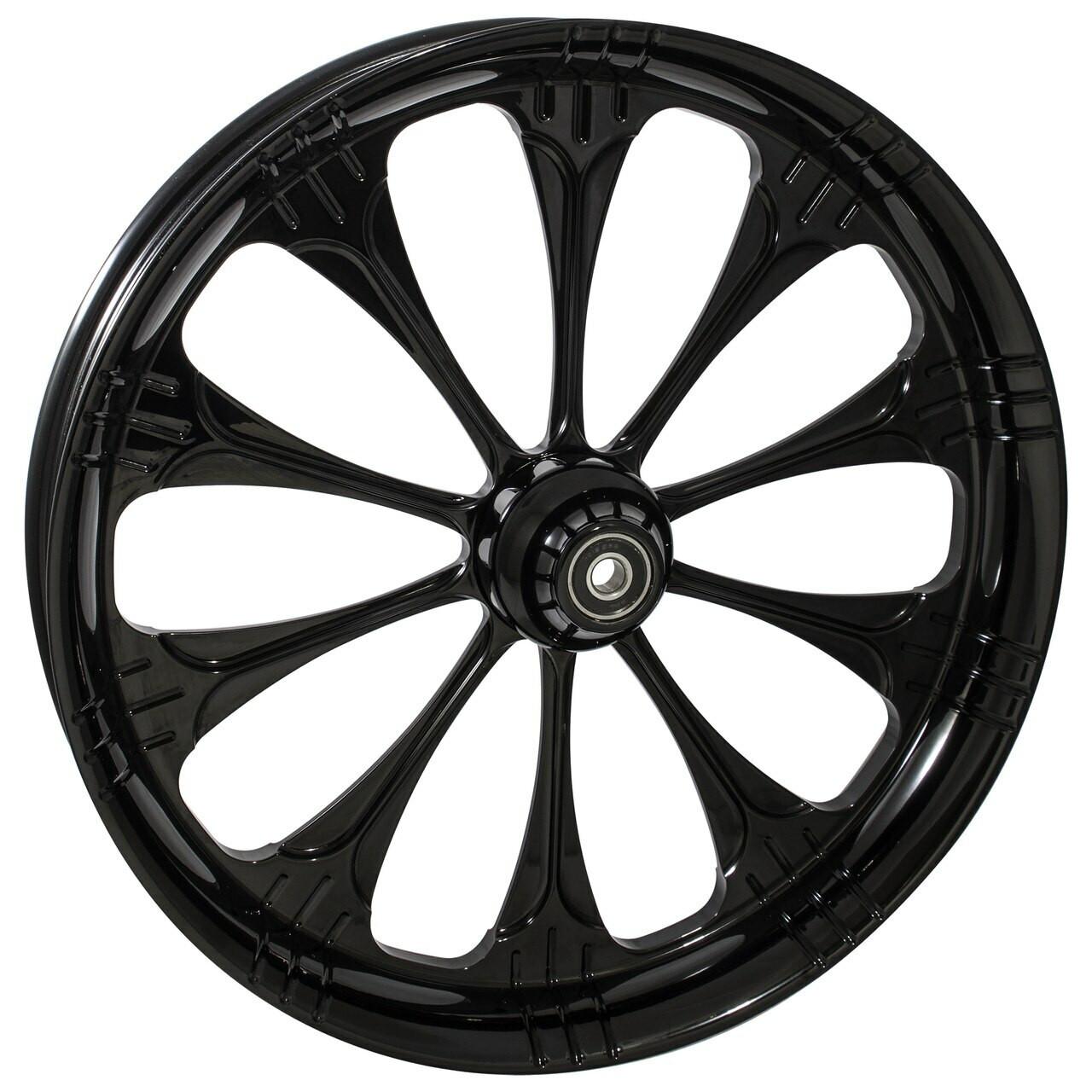 Black Road Glide Wheels Warlock