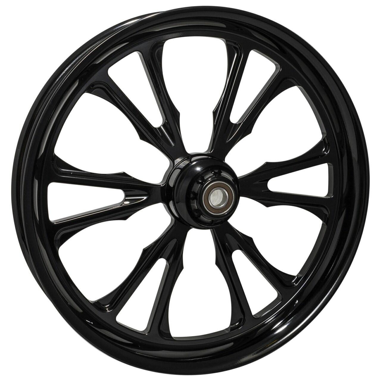 Black Road Glide Wheels Exhile