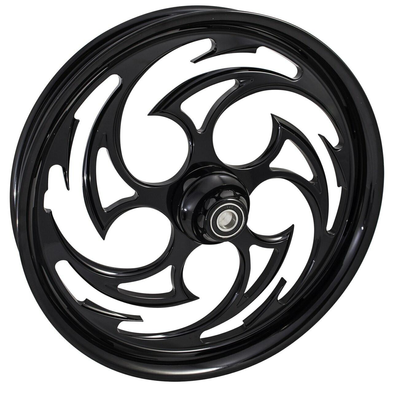 Harley Davidson Black Road King Wheels -Predator