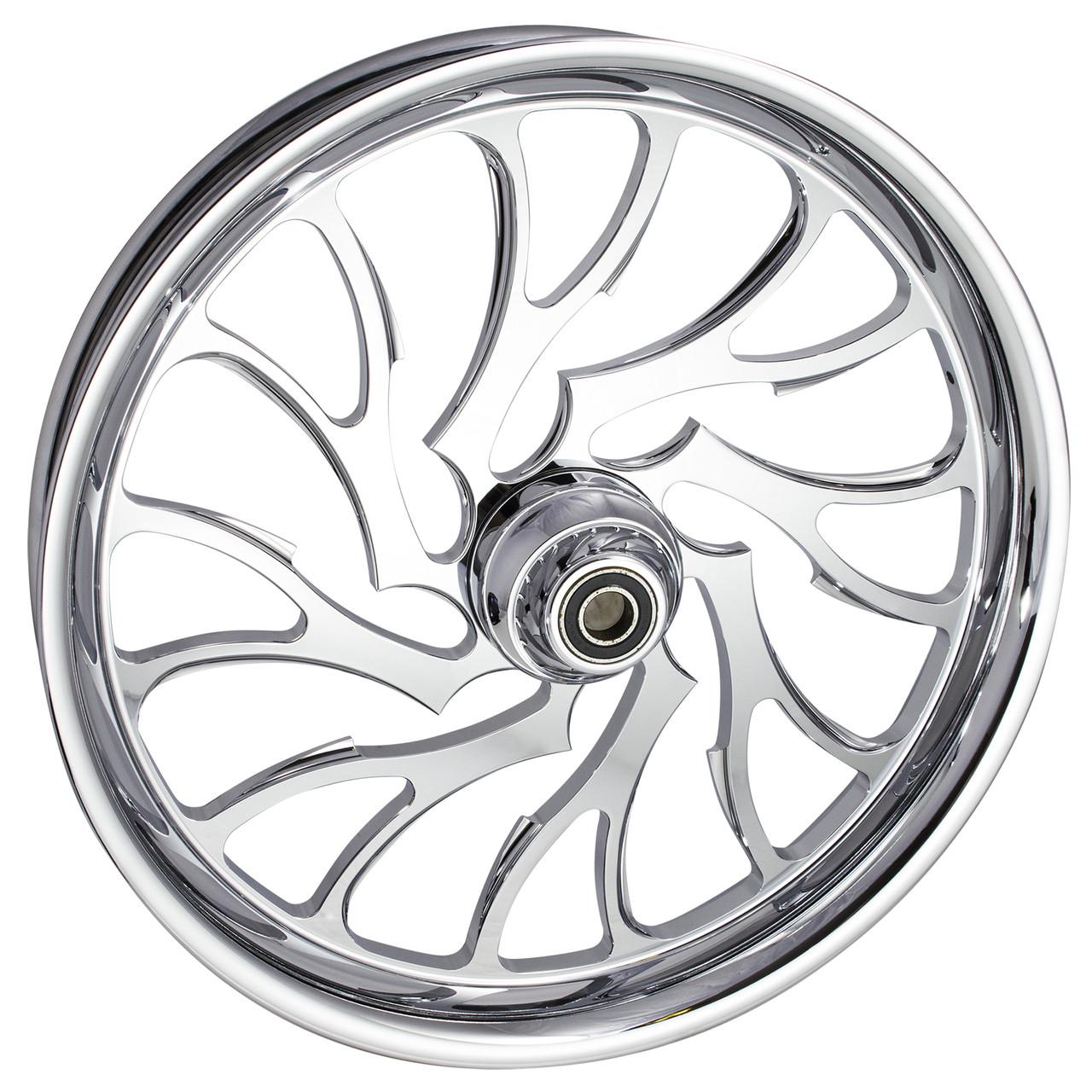 Chrome Harley Davidson Trike and Freewheeler Wheels
