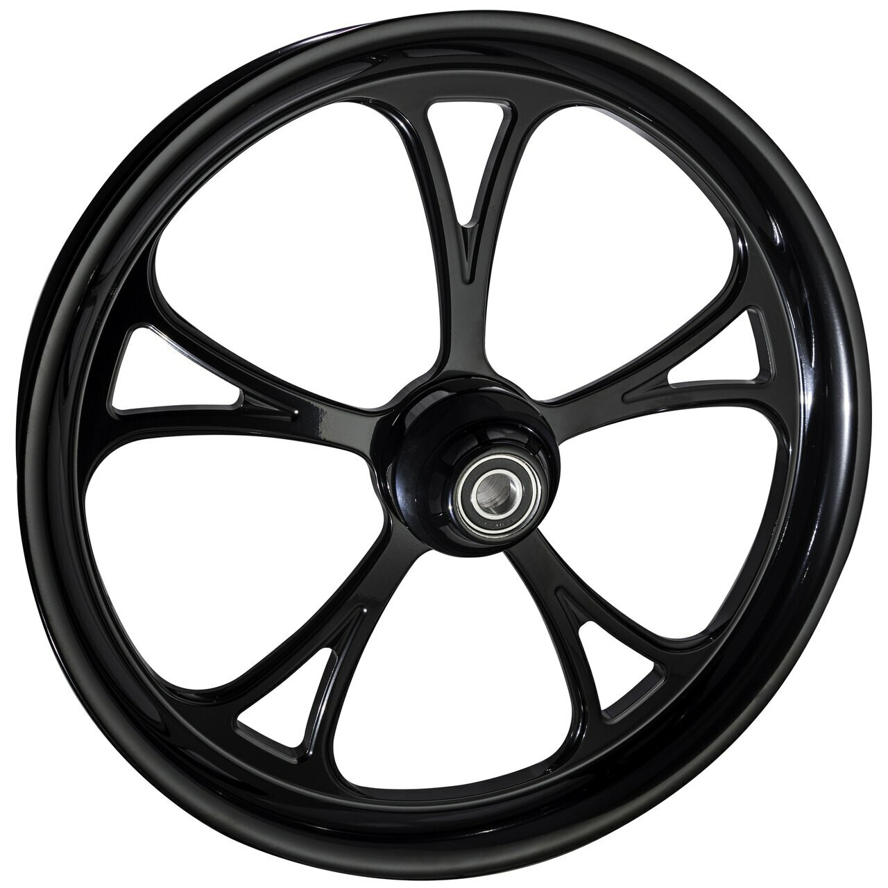21 inch Black Road King Wheels by FTD Customs