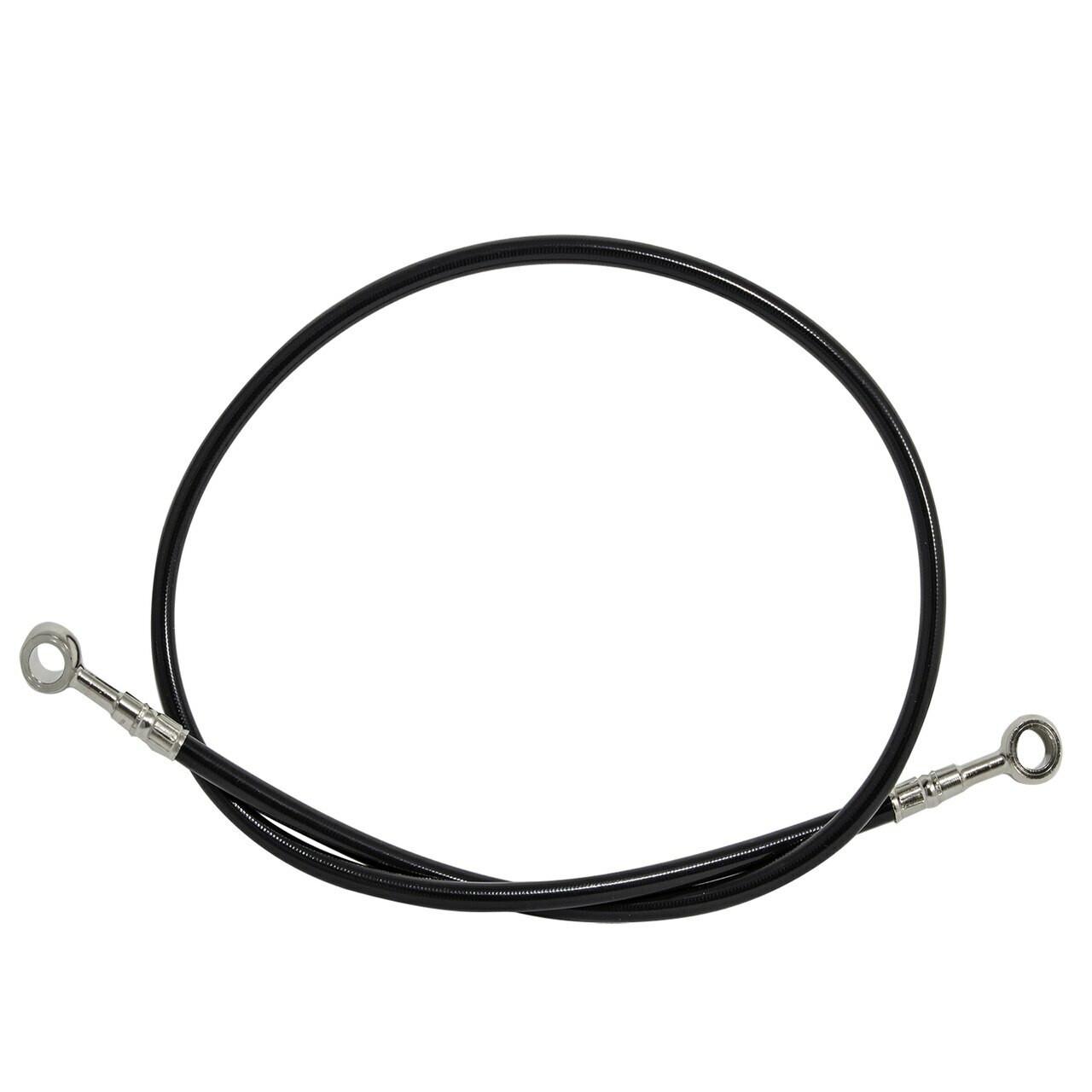 """Black 36"""" Brake line for swingarm extensions"""