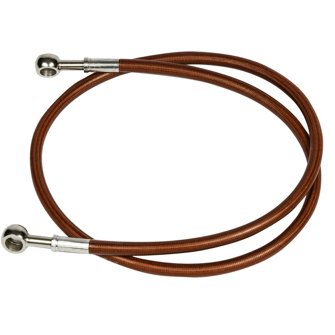 "Red 36"" Brake line for swingarm extensions"