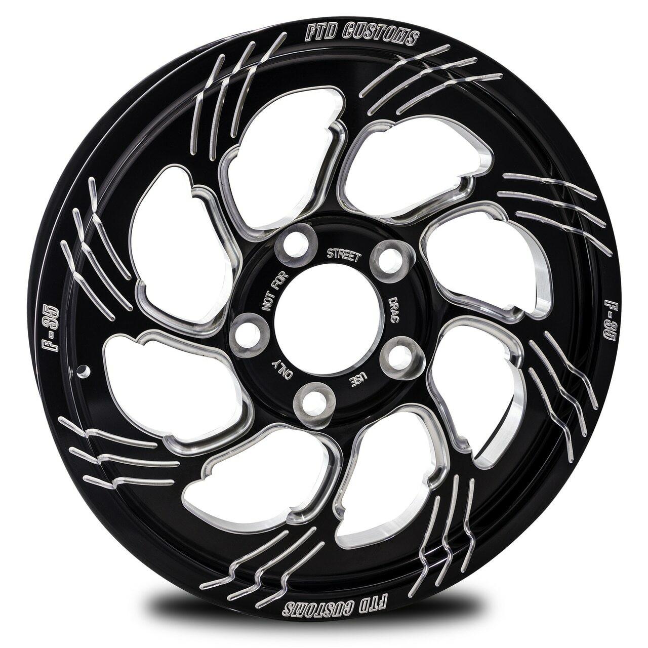 F35 Drag Racing Wheel - FTD Customs Drag Racing Wheels