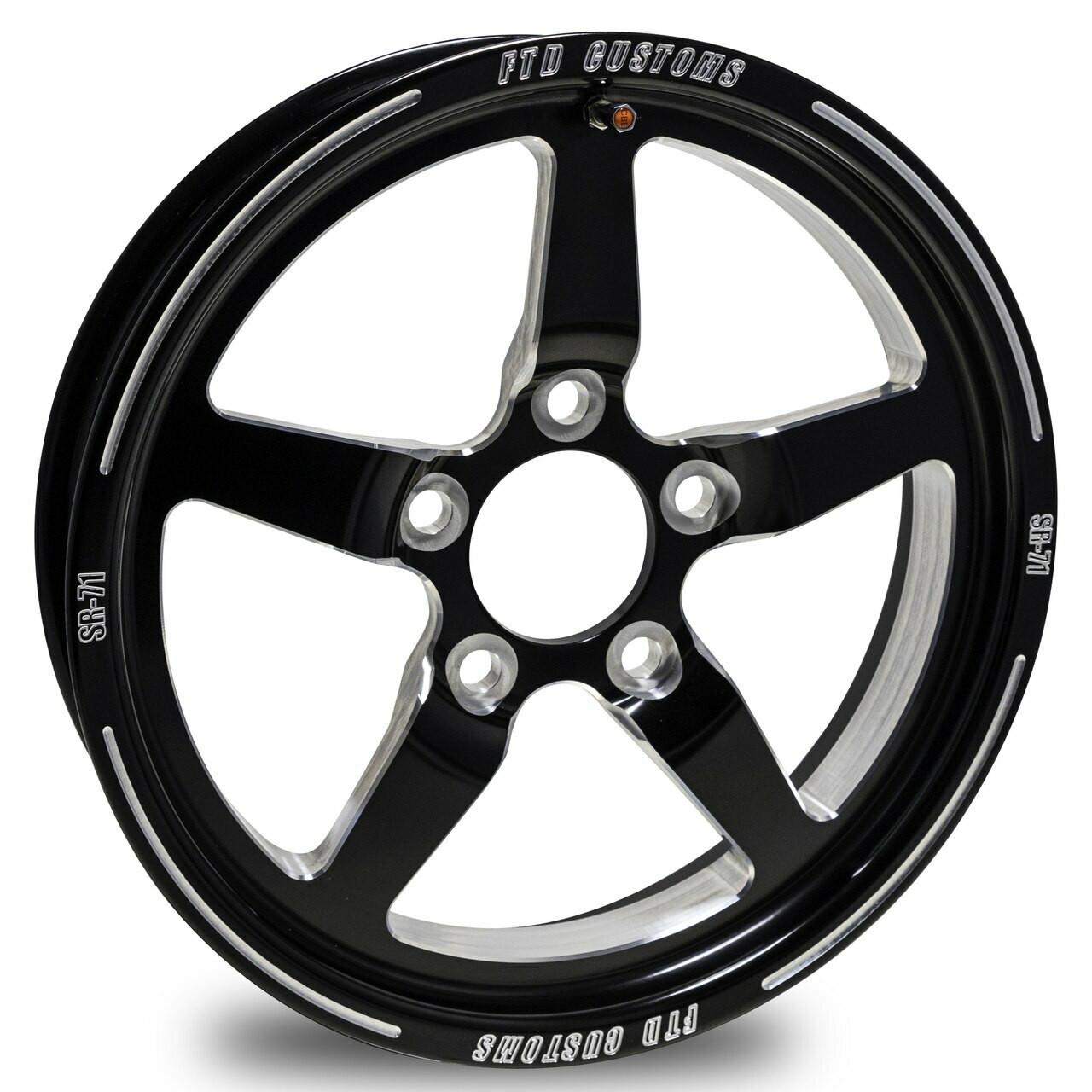 SR-71 Drag Racing Wheel - FTD Customs Racing Whees