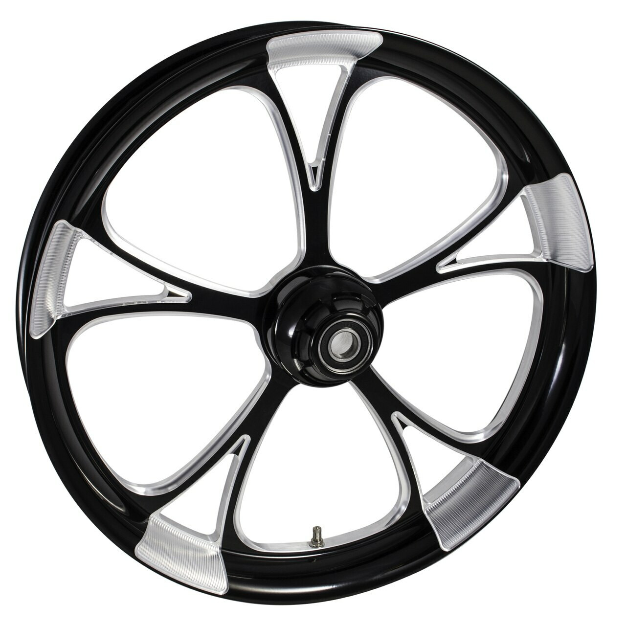 Harley Davidson Black Contrast Breakout Wheels
