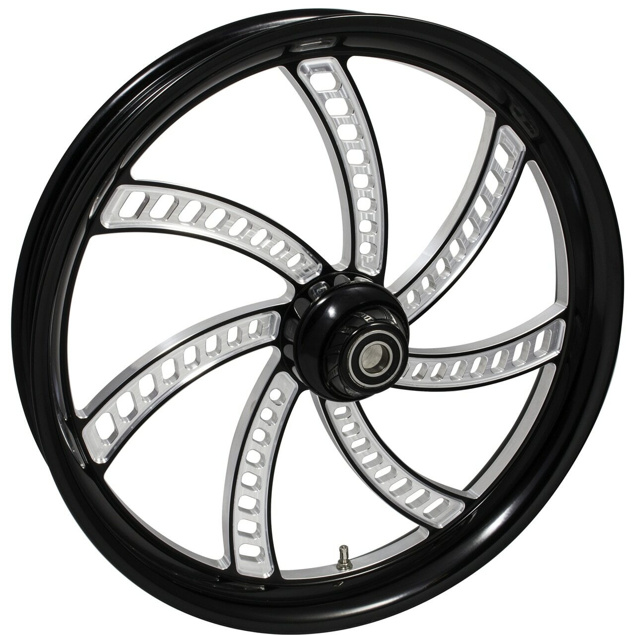 Black Contrast Indian Chieftain Wheels