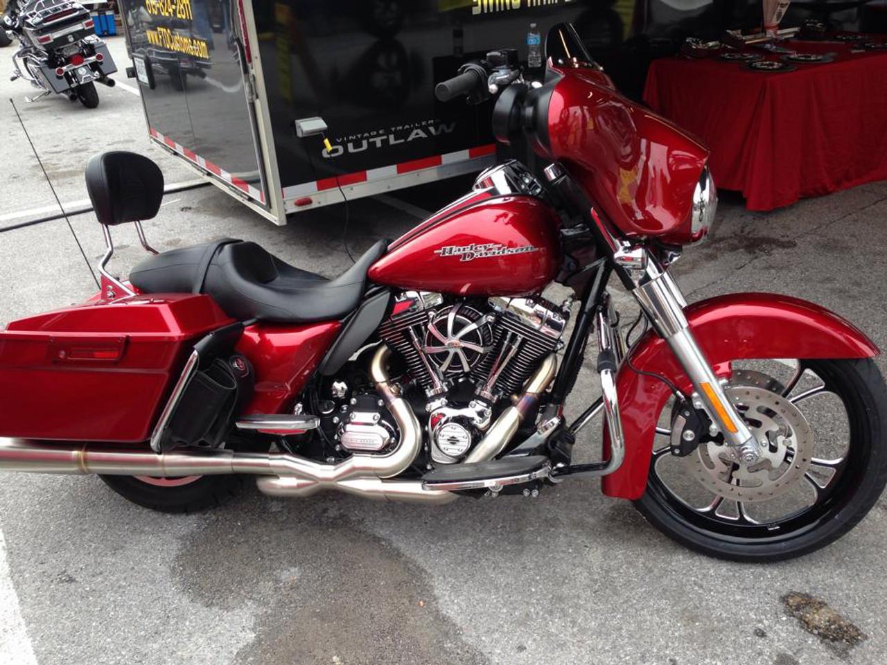 Harley Davidson Fat Boy Wheels -Cyclone-FB-BC