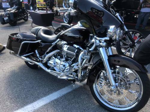 Harley Davidson Fat Boy Wheels -Warlock