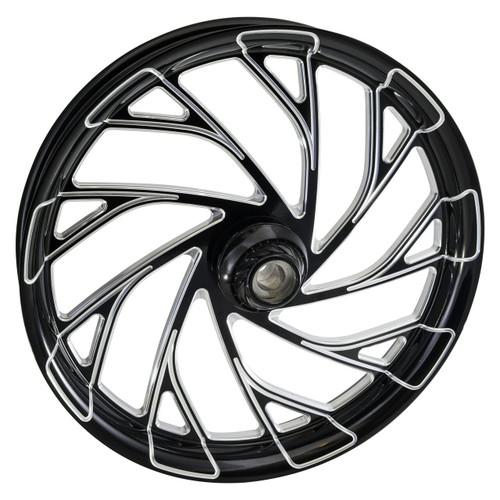 Black Contrast Harley Davidson Street Glide Wheels