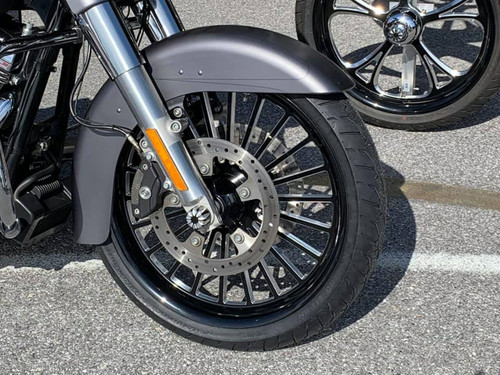 21 inch Black Contrast Cut Street Glide Wheels