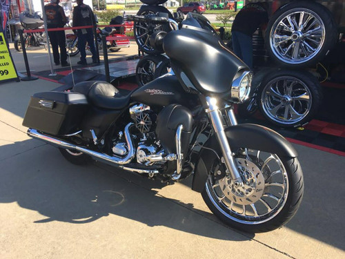 Chrome Road Glide Wheels