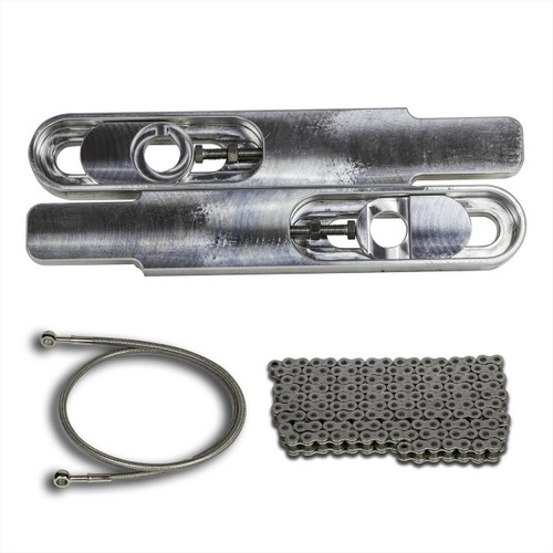 "1996 GSXR 750 Swingarm  Extensions 12/"" Stretch /& 36/"" Brake Line GSX-R 750"