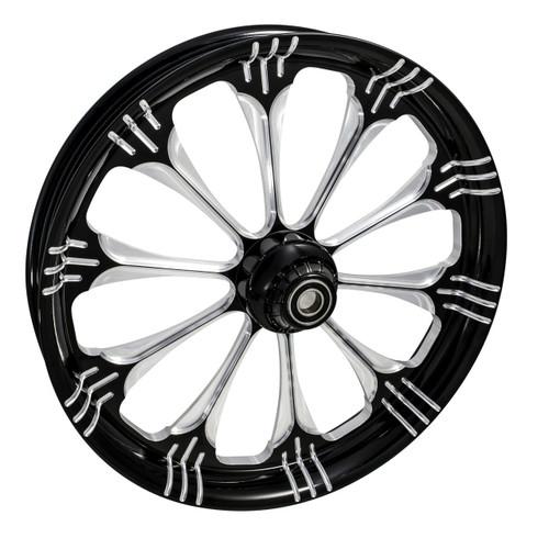 Black Contrast Road Glide Wheels